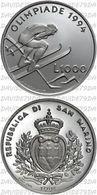 RSM 1994 LILLEHAMMER FDC - San Marino
