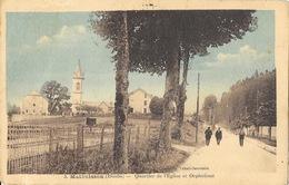 Malbuisson (Doubs) Quartier De L'Eglise Et Orphelinat - Edition Chapouilly, Tabacs - Carte Colorisée N° 3 - France