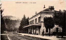 Ornans 1930 - La Gare - France