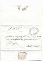 REPUBBLICA ROMANA - DA MONTE LUPONE A MONTE SANTO - 3.4.1849. - ...-1850 Voorfilatelie