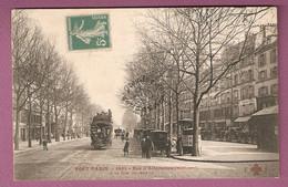 Cpa Tout Paris Rouge N°1489 Rue D'Allemagne A La Rue De Meaux - Collection F Fleury - Distretto: 19