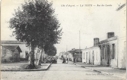 Côte D'Argent, La Teste (Gironde) Rue Des Landes (Rue Carnot) - Edition Gaby-Bessière - Autres Communes