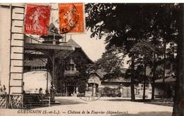 Gueugnon 1921 - Chateau De La Fourrier - Impr. Bourgeois - Gueugnon