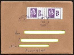 Frankreich 2019  Brief / Letter/ Lettre  100g  Europa ,  MiNr. 7224 (2) ; Marianne, DataMatrix- Code - France