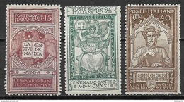 Italia - Italy 1921, Complete Set - Ungebraucht