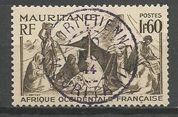 MAURITANIE N° 113 CACHET PORT-ETIENNE - Usati