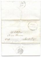 REPUBBLICA ROMANA - DA MONTEPORZIO PER CITTA' - 16.3.1849. - ...-1850 Voorfilatelie