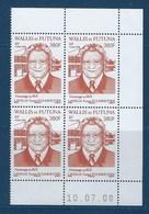 """Wallis Coins Datés YT 696 """" Personnalité """" Neuf** Du 10.07.2008 - Wallis En Futuna"""