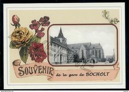 BOCHOLT  ...  2 Cartes Souvenirs Gare ... Train  Creations Modernes Série Limitée - Bocholt
