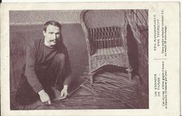 TEMSE - Un Vannier De Tamise, Een Mandenmaker Van Teemsche - Exposition Universelle Et Internationale BRUXELLES 1910 - Temse