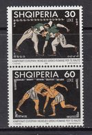 Albania MNH Michel Nr 2656/57 From 1998 / Catw 1.80 EUR - Albania
