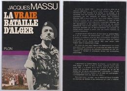 Jacques Massu La Vraie Bataille D'Alger - Books