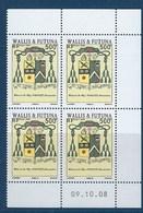 """Wallis Coins Datés YT 706 """" Blason """" Neuf** Du 09.10.2008 - Wallis En Futuna"""