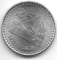 *Mozambique 2,5  Meticais  1980 Km 100  Bu/ms65 - Mozambique
