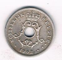 5 CENTIMES 1902 VL  BELGIE /176/ - 03. 5 Centiem