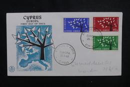 CHYPRE - Enveloppe FDC En 1963 , Europa - L 49887 - Cartas