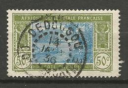 COTE D'IVOIRE N° 69 CACHET  DEBOUGOU - Oblitérés