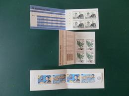 A10/199I  3 CARNETS EUROPE - Autres