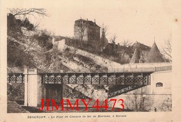 CPA - BESANCON 25 Doubs - Le Pont Du Chemin De Fer De Morteau, à Rivotte - Besancon