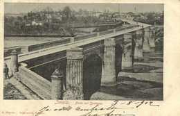 Imola Ponte Suk Santerno  RV Timbre Cachets - Bologna