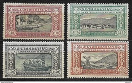 Italia - Italy - 1923 Mi. Nr. 188/189/190/191 - Nuovi