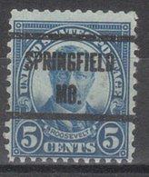 USA Precancel Vorausentwertung Preo, Locals Missouri, Springfield 637-239 - Vereinigte Staaten