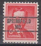 USA Precancel Vorausentwertung Preo, Locals Missouri, Springfield 263 - Vereinigte Staaten