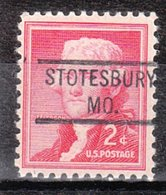 USA Precancel Vorausentwertung Preo, Locals Missouri, Stotesbury 804 - Vereinigte Staaten