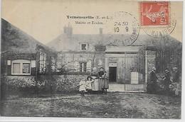 Yermenonville- Mairie Et Ecoles - France