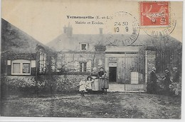 Yermenonville- Mairie Et Ecoles - Francia