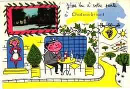 44 .. J'AI BU A VOTRE SANTE A CHATEAUBRIANT - Châteaubriant