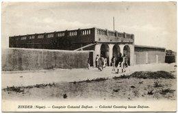 Afrique-Occidentale Française - AOF - Niger - Zinder - Comptoir Colonial Dufour - Used 1929 - Nice Stamp - Niger