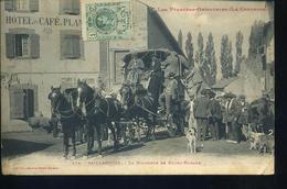 SAILLAGOUSE 1916 - Diligence De Bourg Madame - Frankreich