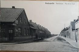 POELCAPELLE STATIESTRAAT EN HERBERG DE ZWAAN - Langemark-Poelkapelle