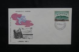 SAINT MARIN - Enveloppe FDC En 1961 - Europa - L 49901 - FDC