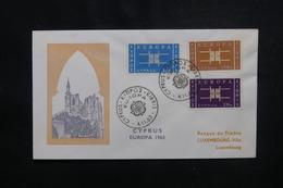 CHYPRE - Enveloppe FDC En 1963 - Europa - L 49902 - Cartas
