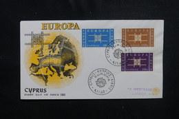 CHYPRE - Enveloppe FDC En 1963 - Europa - L 49903 - Cartas