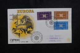 CHYPRE - Enveloppe FDC En 1963 - Europa - L 49904 - Cartas