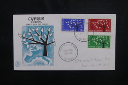 CHYPRE - Enveloppe FDC En 1963 - Europa - L 49905 - Cartas