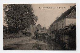 - CPA LIORAC (24) - La Grande Rue 1924 - Edition D. B. - - Autres Communes