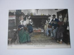 Coutumes, Moeurs Et Costumes Bretons. Le Travail à La Veillée (A2p51) - Bretagne