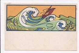 CP ILLUSTRATEUR COMBAZ (La Mer )  Art Nouveau - Combaz