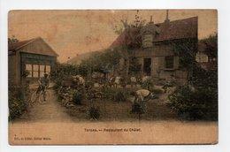 - CPA TORPES (25) - Restaurant Du Châlet (avec Personnages) - Edition Weiss - - Francia