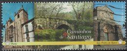 Portugal 2015 Oblitéré Used Porto Caminhos De Santiago São Pedro De Rates SU - 1910-... République