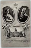 53146440 - Erinnerung Silberhochzeit Des Fuerstenpaares - Familles Royales