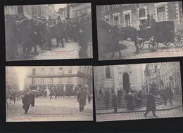 Nantes / Religion / Lot De 4 CP / Manifestations 19 Déc 1906 / Rare / Saint-Nicolas, Arrestation Manifestants - Nantes