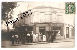 """Carte Photo 94 MAISONS ALFORT - Café """"Au Cheval Noir"""" - Animation Beau Plan - Maisons Alfort"""