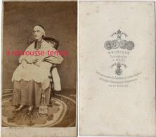 CDV Paul Dupont Des Loges, évêque De Metz- 1804-1866--député Au Reichstag -photo Meurisse à Metz - Anciennes (Av. 1900)