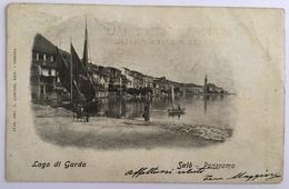 13252 Salò - Lago Di Garda - Panorama - Brescia