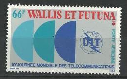 """Wallis Aerien YT 84 (PA) """" Télécommunications """" 1978 Neuf** - Posta Aerea"""